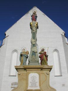 Statue of immaculate conception